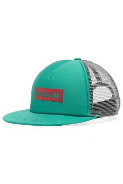 Hurley One & Only Square Trucker Mütze - Neptune Green(110373389)