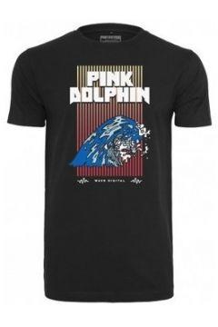 T-shirt Pink Dolphin T-shirt avec imprimé Digital Waves(127968881)