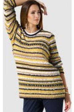 Pullover MIAMODA Gelb/Schwarz/Braun(119484547)