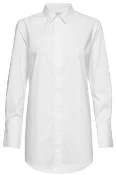 Larkin Ls Classic Shirt Langärmliges Hemd Weiß SECOND FEMALE(114801816)