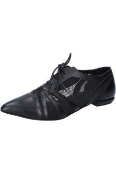 Ville basse Md\'e By Fabbrica Morichetti MD\'E élégantes noir cuir BY254(115401001)
