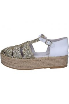 Sandales Docksteps sandales platine glitter blanc cuir BT471(115442824)