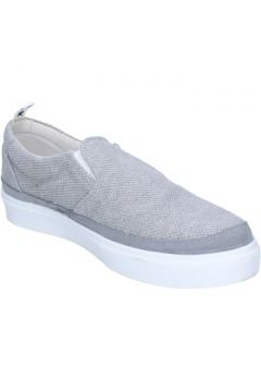 Chaussures Bark slip on gris textile daim AG582(115466070)
