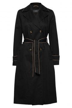 Coats Woven Trenchcoat Mantel Schwarz ESPRIT COLLECTION(108467548)