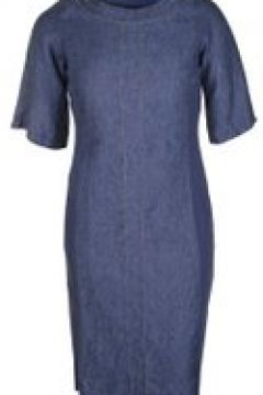 Leinenkleid im Denim-Stil Doris Streich marine(111503286)