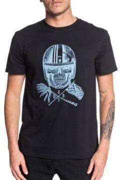 T-shirt Quiksilver T-shirt Skull Open Face noir(127986972)