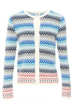 Jacquard-Strickjacke Alfred - Damenkollektion -(117291876)