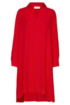 Linea Kleid Knielang Rot FALL WINTER SPRING SUMMER(114164103)