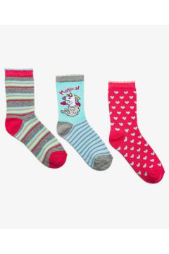 Koton Kız Çocuk 3\'lü Kiz Çocuk Çorap(102492188)