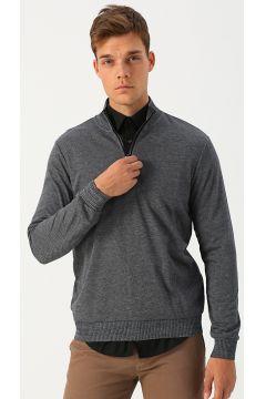 Cotton Bar Gri Sweatshirt(113985384)