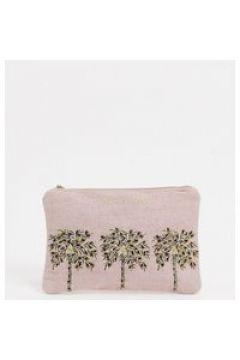 Accessorize - Pochette rosa con palme e perline(124811096)