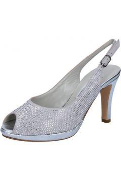 Sandales Musella sandales argent daim strass BZ474(115399353)