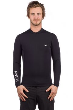 RVCA Back Zip Longsleeve Rash Guard zwart(109248883)