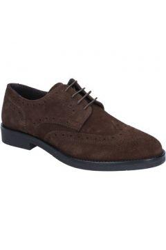 Chaussures J Breitlin élégantes marron (brun foncé) daim BX164(115442489)