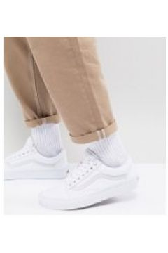 Vans - Old Skool - Weiße Sneaker - Weiß(94103582)