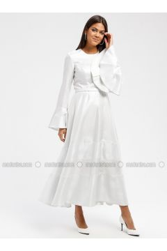 Silver tone - Crew neck - Fully Lined - Dresses - DRESSLOVE(110339028)