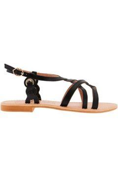 Sandales Bons Baisers De Paname Snaki Noir(115623863)