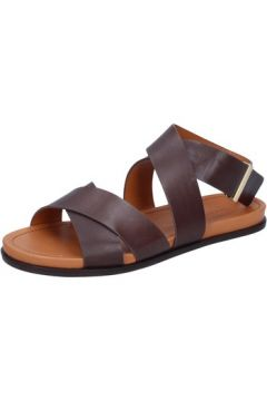 Sandales What For sandales marron cuir BZ298(88470284)
