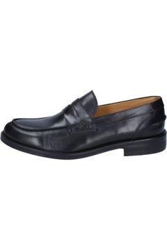 Chaussures Bruno Verri mocassins noir cuir AY09(98485844)