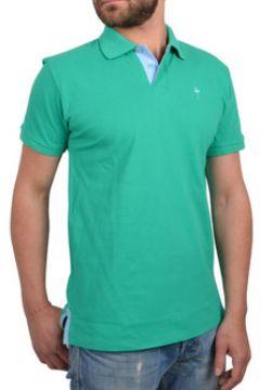 T-shirt Katz Outfitter Polo homme Smart Flamingo vert et bleu - Polo manches courtes(115397668)