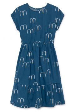 Kleid Midi aus Baumwolle und Leinen(113869878)