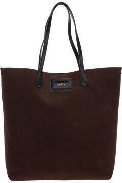 Women's suede shoulder bag(118300975)