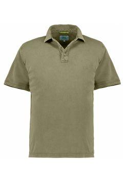 Camel Active: Sportliches Poloshirt, kurzarm, 5XL, Oliv(121718125)