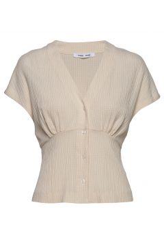 Valerie Top 11238 Blouses Short-sleeved Weiß SAMSØE SAMSØE(114154055)