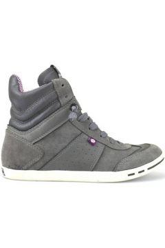 Chaussures Lotto sneakers gris daim cuir AJ784(115400284)