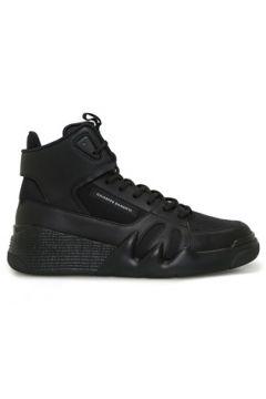 Giuseppe Zanotti Erkek Talon Siyah Logolu Deri Sneaker 43 EU(113803375)