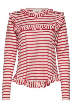Yes Langärmliges T-Shirt Rot MUNTHE(114154421)