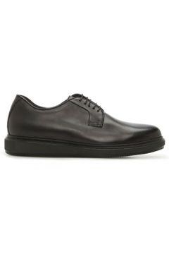 Barrett Erkek Siyah Deri Ayakkabı 0 UK(122104125)