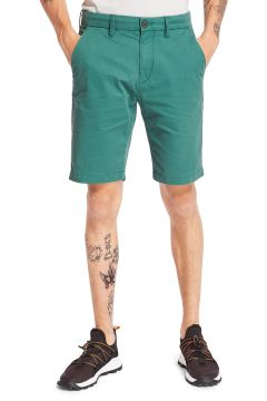 Timberland Squam Lake Stretch Twill Straight Chino Spazier-Shorts - Hunter Green(116437549)