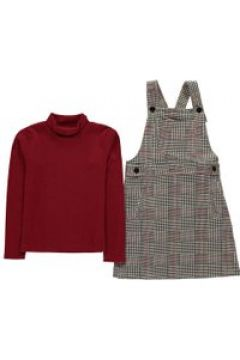 Crafted Dress Set Baby Girls - Black Check(100543220)