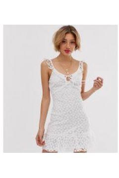 Parisian Petite - Vestito con scollo rotondo-Bianco(120329776)