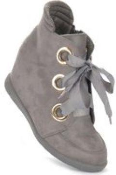 Pantofelek24.pl | Oryginalne trampki sneakersy Kylie Crazy SZARE(112082816)