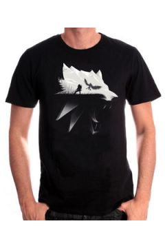 T-shirt Cotton Division T-shirt The Witcher 3 - Wolf Silhouette(98755594)