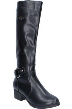 Bottes Braccialini bottes noir cuir BX03(98483771)
