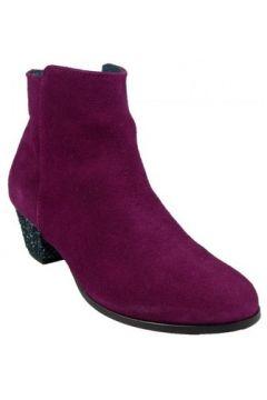 Bottines Bobbies Boots Lidylle Pourpre(127852831)
