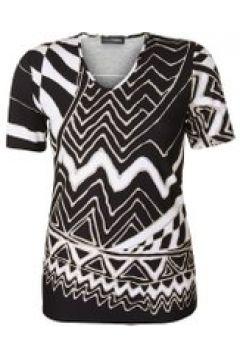 Shirt mit geometrischem Muster Doris Streich Bast(111505505)
