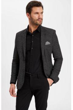 DeFacto Erkek Mendil Detaylı Modern Fit Blazer Ceket(108987189)