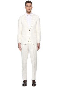 Brunello Cucinelli Erkek TAKIM Beyaz 50 IT(113464435)