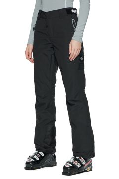 Superdry Luxe Snow Pant Damen Snowboard-Hose - Onyx Black(100273064)
