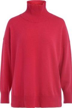 Pull Roberto Collina Pull avec col cheminée en laine de couleur fraise(101660225)