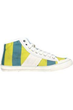 Chaussures Date D.a.t.e. TENDER HIGH-93 Sneakers Femme Jaune(115569779)