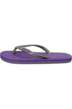 Tongs Everlast sandales gris caoutchouc pourpre AF720(88469413)