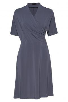 Pomme Dress Kleid Knielang Blau RESIDUS(114163263)