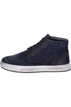 Chaussures Bruno Verri sneakers bleu daim ay76(115443251)