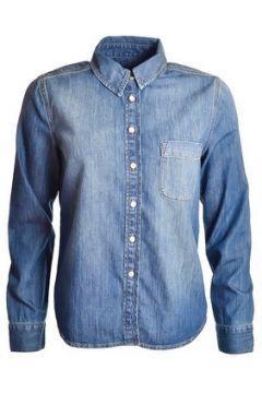 Chemise Gant Chemise bleu jean Vintage pour femme(115387610)