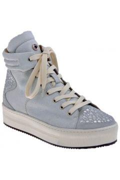 Chaussures Janet Janet Platform Borchiata Mid Baskets montantes(115499797)